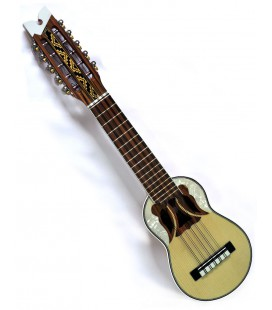 "Professional charango ""butterfly soundhole"" + Free canvas case"