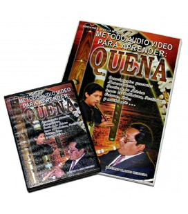 2-CD method to learn to play the quena (Andean flute)